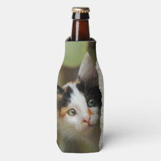 Porta-garrafa Animal de estimação principal curioso bonito da