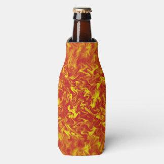 Porta-garrafa As fitas do fogo podem ou do refrigerador da