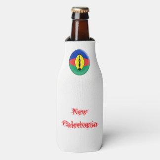 Porta-garrafa Bandeira caledoniana nova de Nova Caledônia