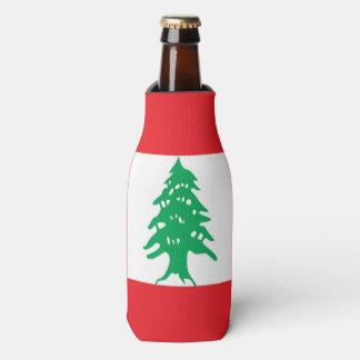 Porta-garrafa Bandeira de Líbano