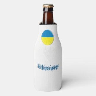 Porta-garrafa Bandeira de Ucrânia Ukrainean Ukraini