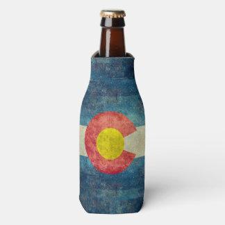 Porta-garrafa Bandeira do estado de Colorado com olhar sujo