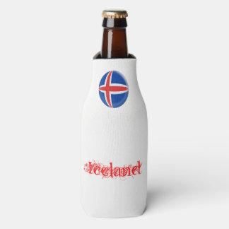 Porta-garrafa Bandeira do islandês de Islândia