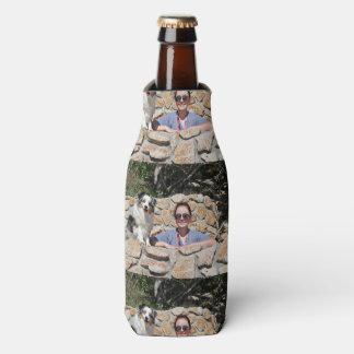 Porta-garrafa Bennett - mini australiano - Rosie - praia de