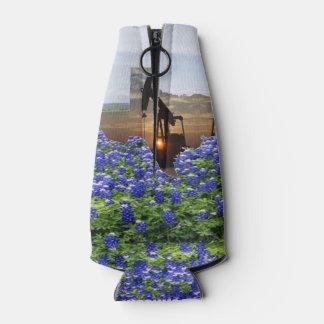 Porta-garrafa Bomba de óleo Jack de Texas no por do sol em