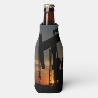 Porta-garrafa Bomba de óleo Jack no por do sol
