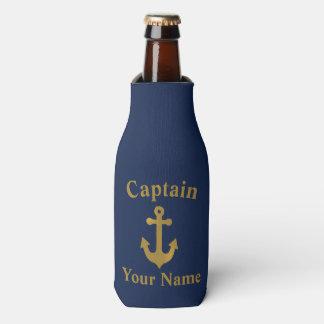 Porta-garrafa Capitão Garrafa Refrigerador da âncora do barco do