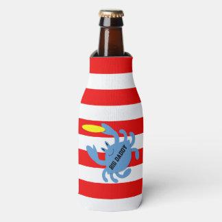 Porta-garrafa Caranguejo do Frisbee personalizado