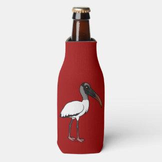 Porta-garrafa Cegonha de madeira de Birdorable