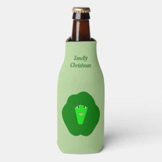 Porta-garrafa Costume Smelly da couve de Bruxelas do Natal