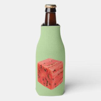 Porta-garrafa Cubo vermelho doce fresco original da comida da