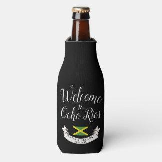 Porta-garrafa Dê boas-vindas ao costume do casamento do destino