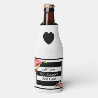 """Porta-garrafa Do """"refrigerador floral lindo da garrafa do amor"""