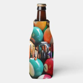 Porta-garrafa Eightballs, e suporte atarracado do logotipo de