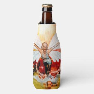 Porta-garrafa Fada maravilhosa com cisne