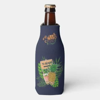 Porta-garrafa Favor do convidado da festa de aniversário de Luau