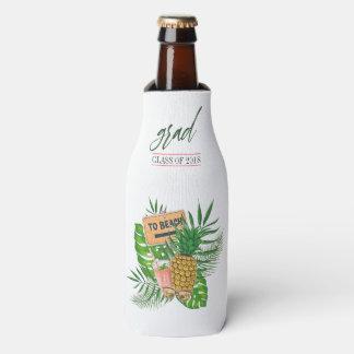 Porta-garrafa Favor do convidado da festa de formatura de Luau