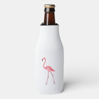 Porta-garrafa Flamingo cor-de-rosa bonito