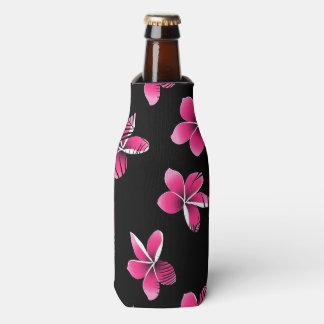 Porta-garrafa Frangipani cor-de-rosa