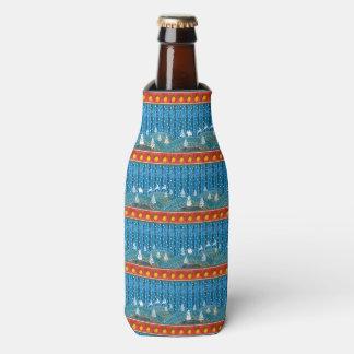 Porta-garrafa Fundo mágico do Natal