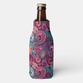 Porta-garrafa Garrafa Coozy do teste padrão de Paisley