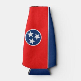 Porta-garrafa Gráfico dinâmico da bandeira do estado de