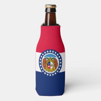 Porta-garrafa Gráfico dinâmico da bandeira do estado de Missouri