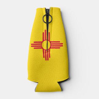 Porta-garrafa Gráfico dinâmico da bandeira do estado de New