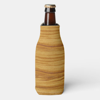 Porta-garrafa Grão de madeira clara