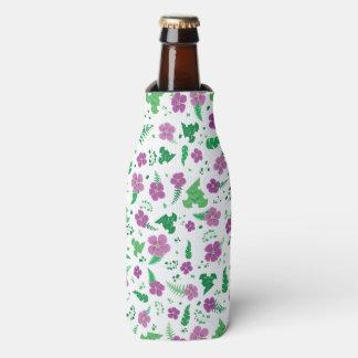 Porta-garrafa Hibiscus roxo