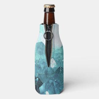 Porta-garrafa Hortelã de cristal