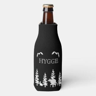 Porta-garrafa Hygge e preto nórdico das silhuetas dos animais