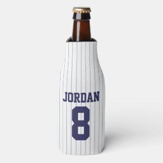 Porta-garrafa Jérsei de basebol - festa de aniversário do tema