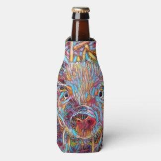 Porta-garrafa Leitão funky animal de ArtStudio-