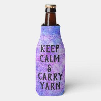 Porta-garrafa Mantenha roxo calmo e do carregar do fio