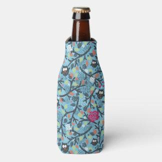 Porta-garrafa Meu animal de estimação louco da coruja