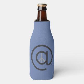 Porta-garrafa Na garrafa da paz acolhedor