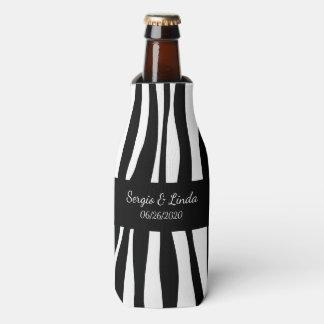 Porta-garrafa Nome e data da zebra