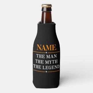 Porta-garrafa Nome personalizado o homem o mito a legenda