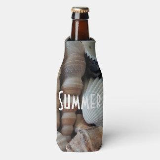 Porta-garrafa O mar tropical exótico do verão descasca a