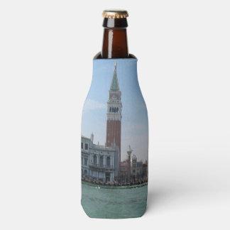 Porta-garrafa O quadrado de St Mark do canal grande