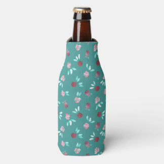 Porta-garrafa O trevo floresce o refrigerador da garrafa