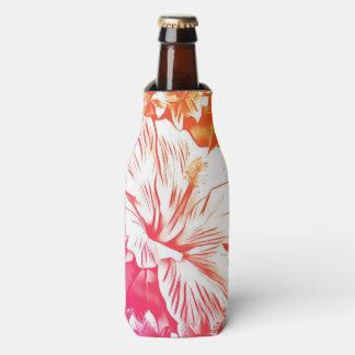 Porta-garrafa Os hibiscus engarrafam podem refrigerador