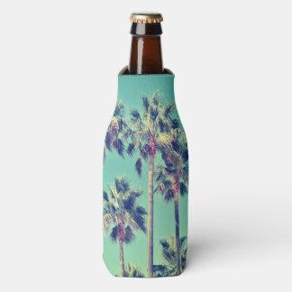 Porta-garrafa Palmas tropicais na cerceta