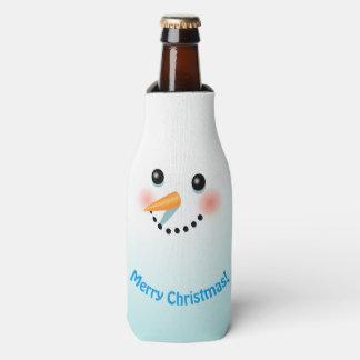 Porta-garrafa Partido legal do Xmas do boneco de neve