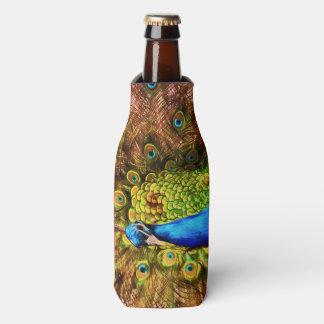 Porta-garrafa Pavão colorido