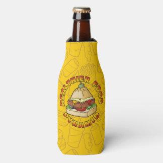 Porta-garrafa Pirâmide de comida mais saudável