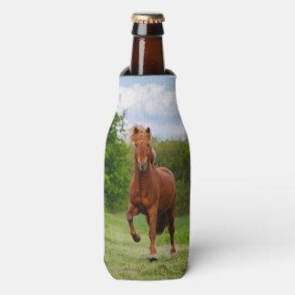 Porta-garrafa Pônei islandês em amantes engraçados do cavalo da