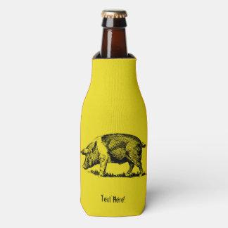 Porta-garrafa Porco