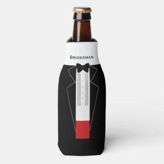 Porta-garrafa Refrigerador Customisable da garrafa do Bridesman